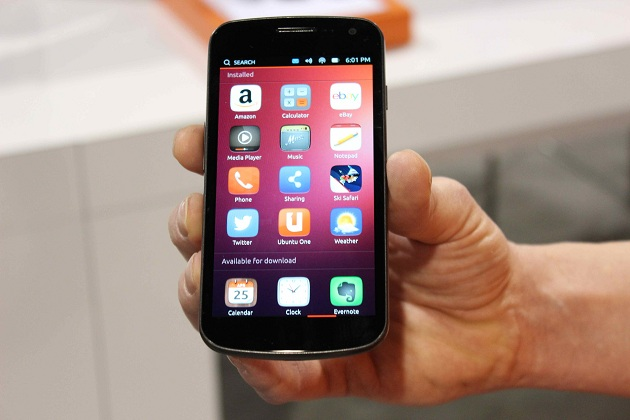 Ubuntu Phone 2i301mx