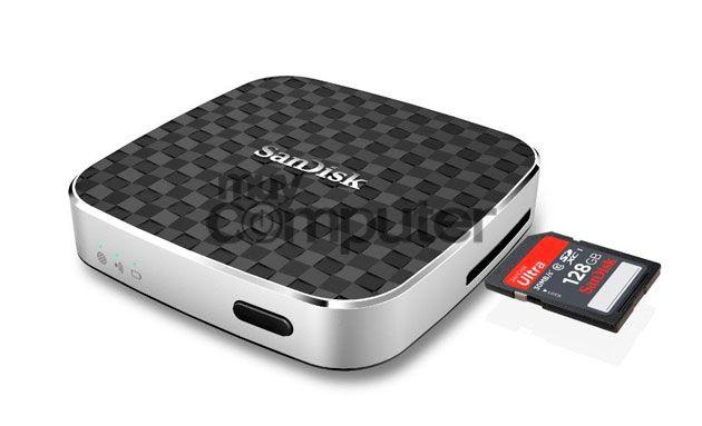 Unidad multimedia inalámbrica SanDisk Connect
