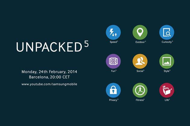 Evento Unpacked de Samsung en directo