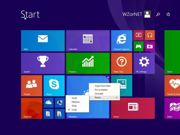 Windows 8.1 Update 1 permitirá in203mx