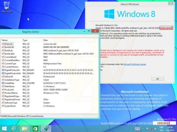 Filtrada nueva Build de Windows 8.1 Update 1