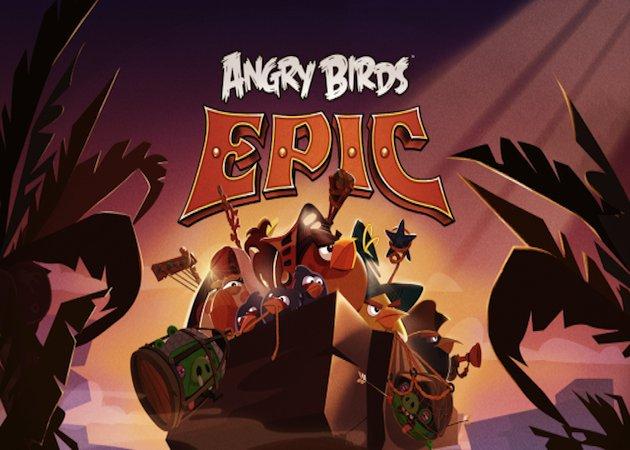 Trailer oficial de Angry Birds Epic