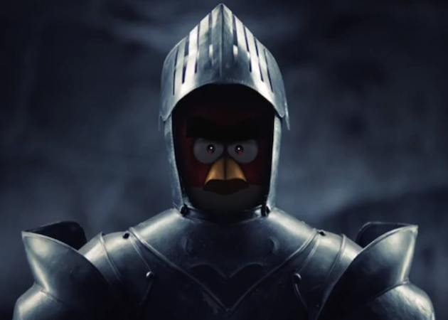Angry Birds medieval