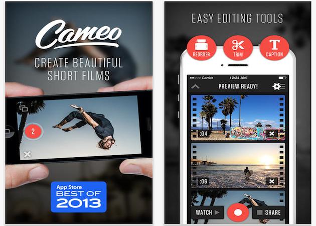 Vimeo compra Cameo, una de las mejores apps de vídeo para iPhone
