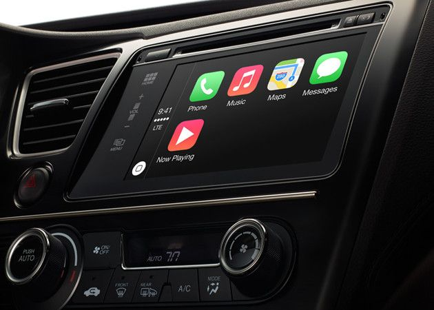 Apple presenta CarPlay