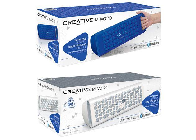 Creative MUVO 20 y MUVO 10