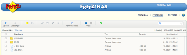 FRITZ!Box 7490 NAS
