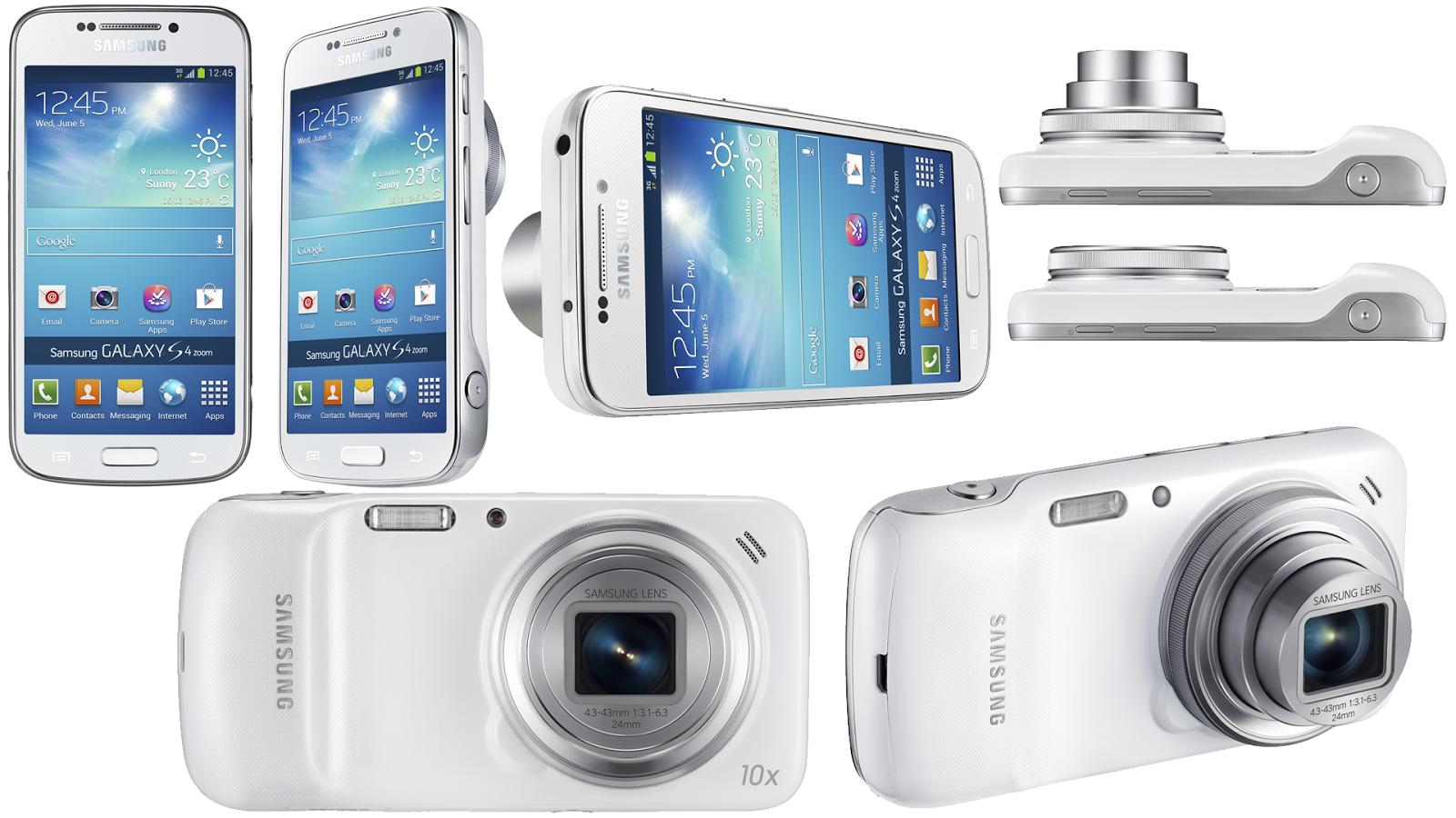 Filtradas las especificaciones de la Galaxy S5 Zoom
