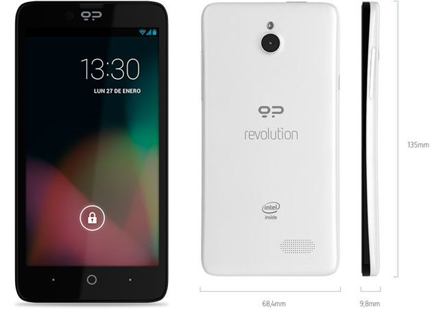 Geeksphone Revolution llega a Amazon