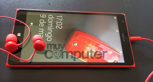 Nokia Lumia 1520 auriculares