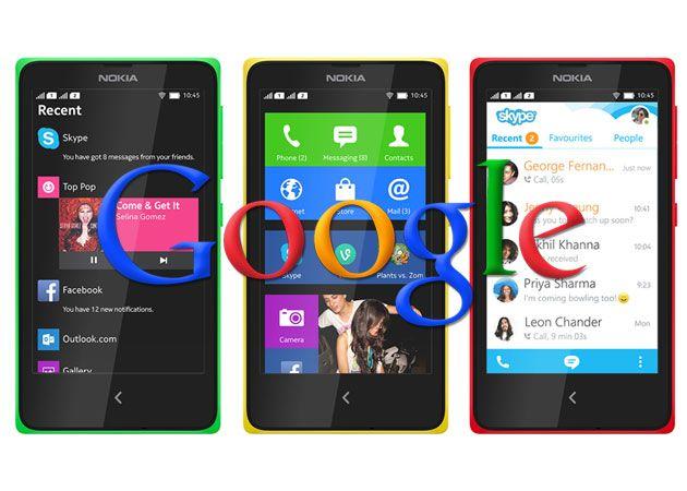 Nokia X rooteado para incorporar los servicios de Google