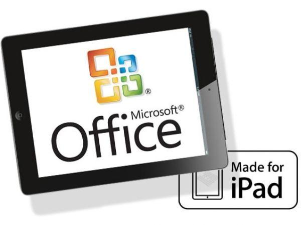Office de Microsoft llega al iPad 3i12mx