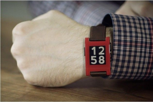 Pebble unidades de su smartwatch
