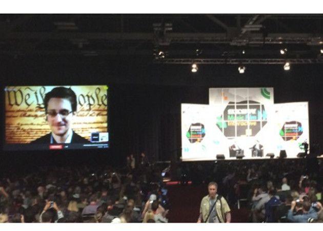 Snowden en SXSW: la NSA ha incendiado el futuro de Internet