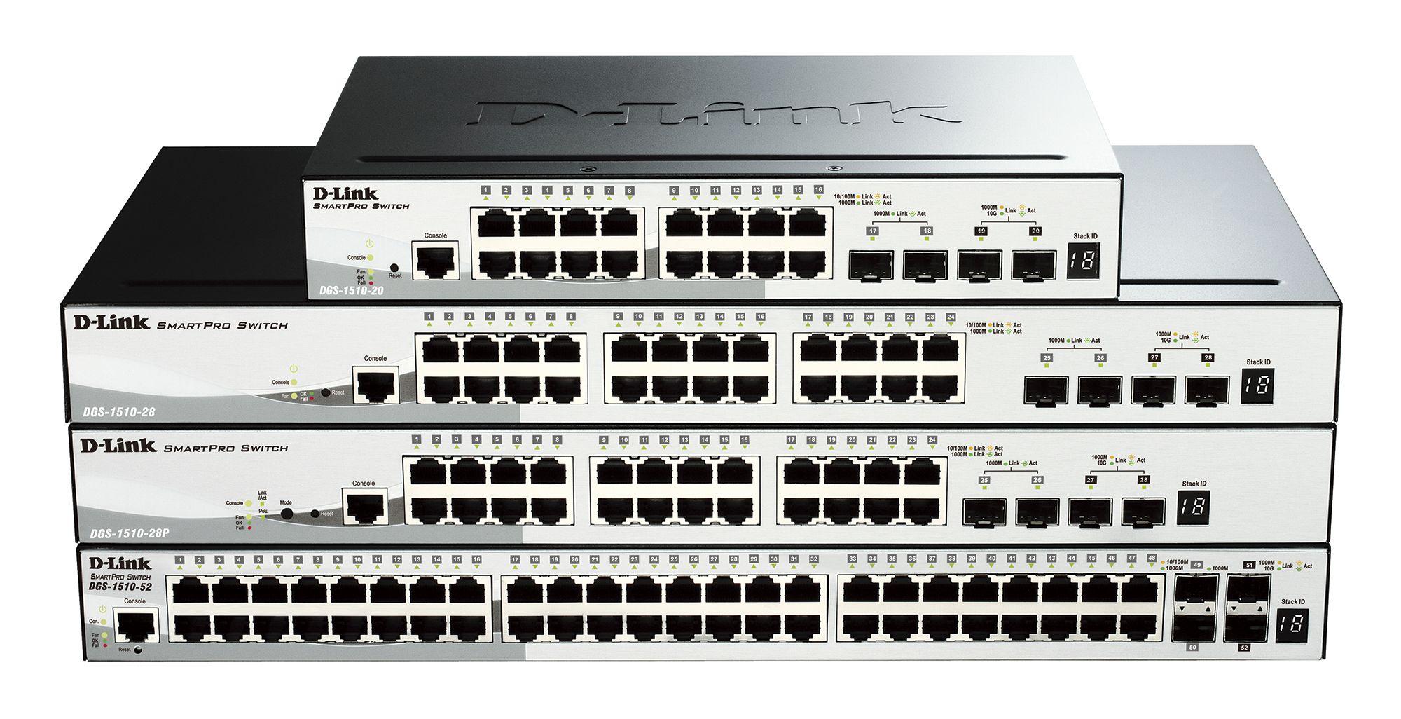 D-Link presenta sus nuevos Switches Smart Pro DGS-1510 29