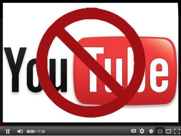 Turquía ha bloqueado Youtube, sigue la censura en el país