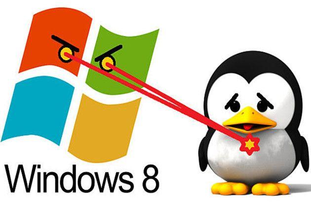 Actualización Windows 8 acaba con Linux