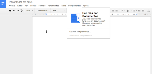 complementos para Google Drive