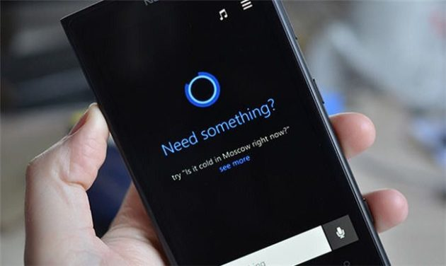 interfaz de Cortana 301mx
