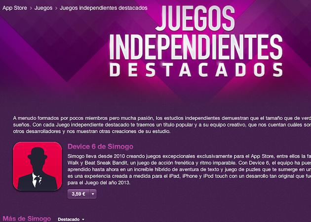 La App Store estrena una sección de juegos indie para iOS