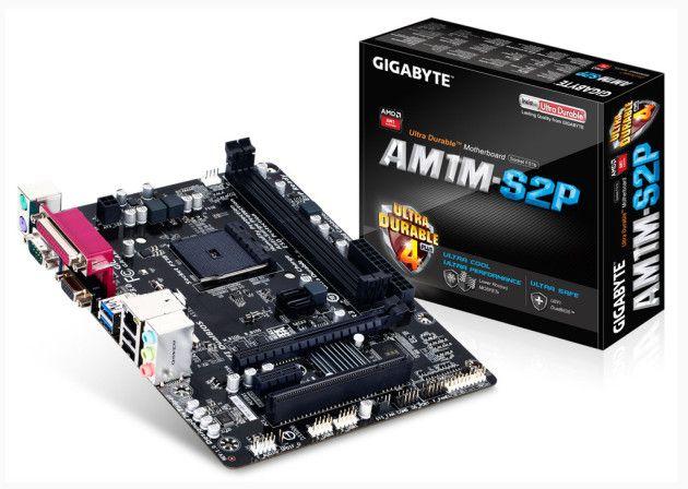 plataforma AM1 gigabyte 21mx
