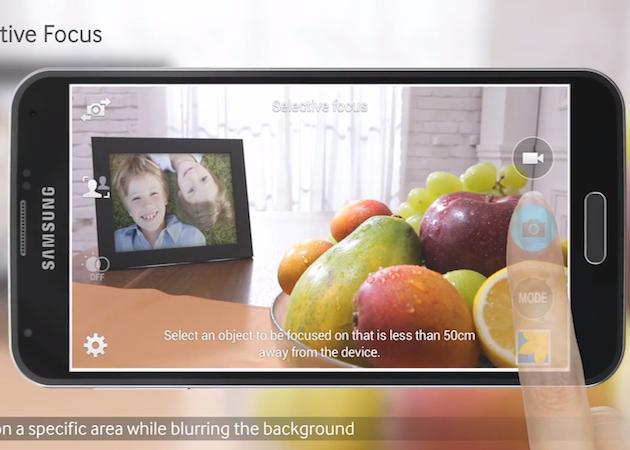 video promocional de Samsung Galaxy S5