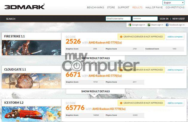 3DMark Radeon R7 250X