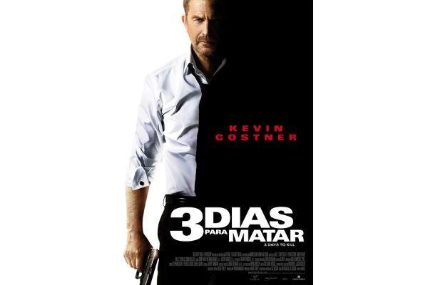 "Te invitamos a ver ""3 días para matar"" con Kevin Costner"