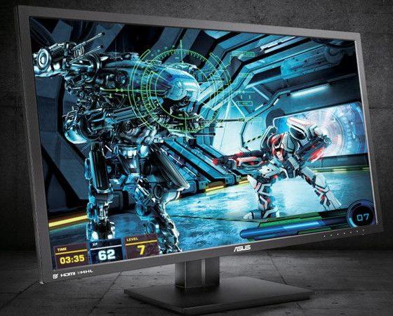 Monitor 4K ASUS PB287Q para consumo pro y jugadores PC 31