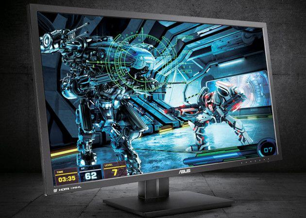 Monitor 4K ASUS PB287Q para consumo pro y jugadores PC 29