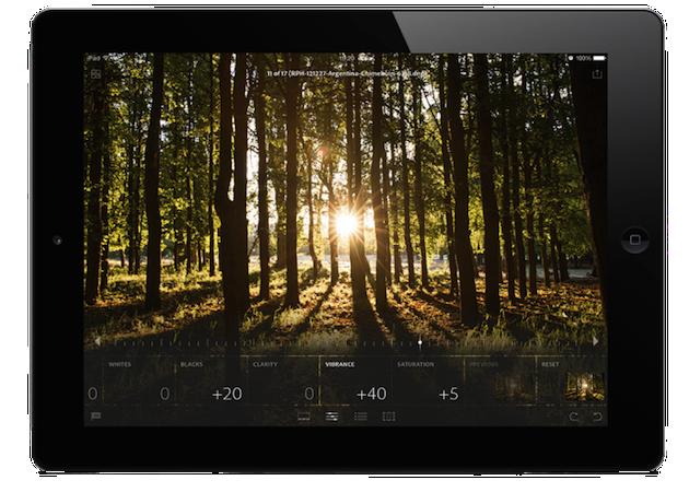 Adobe Lightroom Mobile llega al iPad