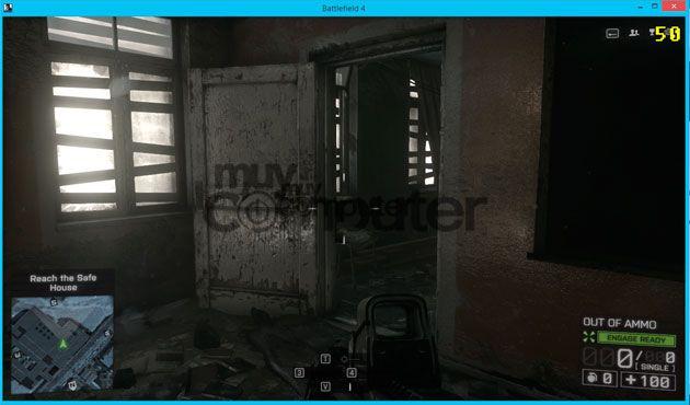 Battlefield 4 50 fps Windowed