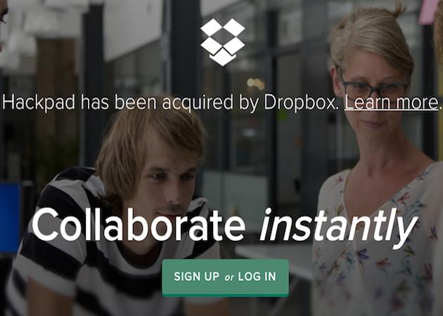 Dropbox compra Loom y Hackpad