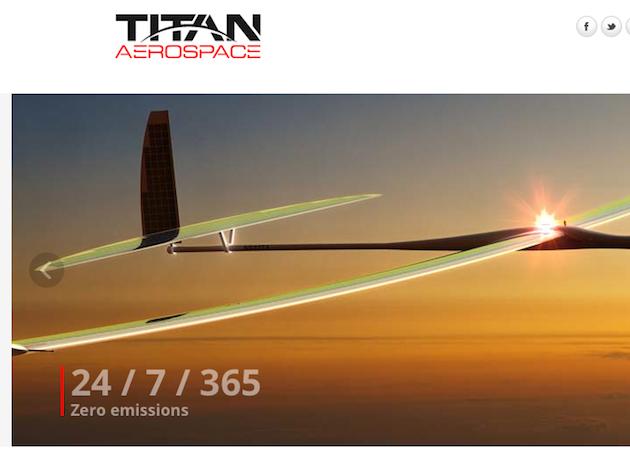 Google compra Titan Aerospace