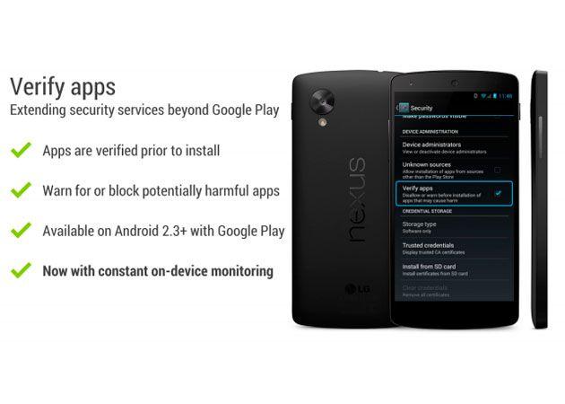 Google escaneará las apps instaladas en Android en busca de malware