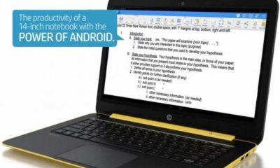 HP Slatebook 14 ¿Hay espacio para portátiles Android? 32