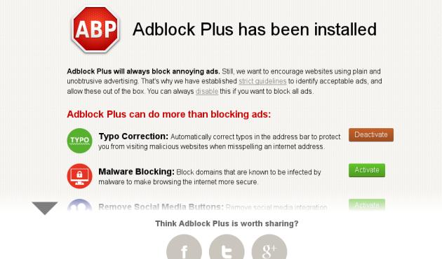 AdBlock Plus deja de dar soporte a Internet Explorer 6 y 7