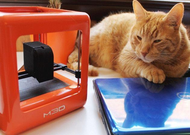 M3D, la mini impresora 3D que triunfa en Kickstarter