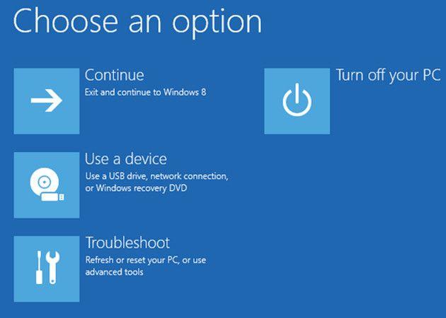 Cinco maneras de arrancar en modo seguro en Windows 8 / 8.1