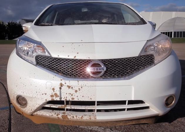 Nissan Ultra-Ever Dry: pinturas de coche que se limpian solas