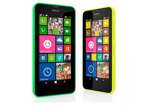 Nokia Lumia 630 y 635