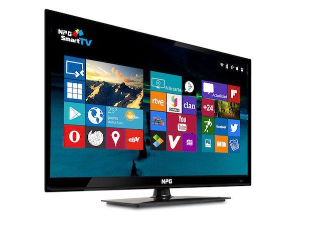 Nueva Smart TV de NPG