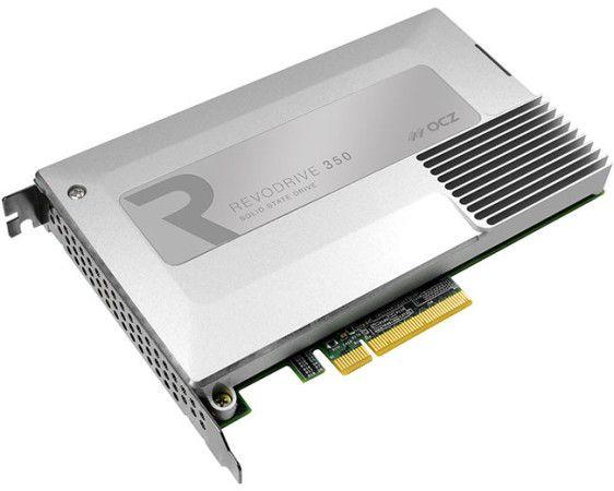 OCZ presenta SSD RevoDrive 350, alcanza los 1,8 GB/s