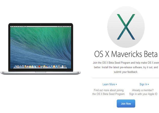 Apple abre las betas de OS X a todos los usuarios