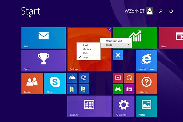 Windows 8 1 update 1 da algunos problemas de instalaci n for Windows 8 bureaublad