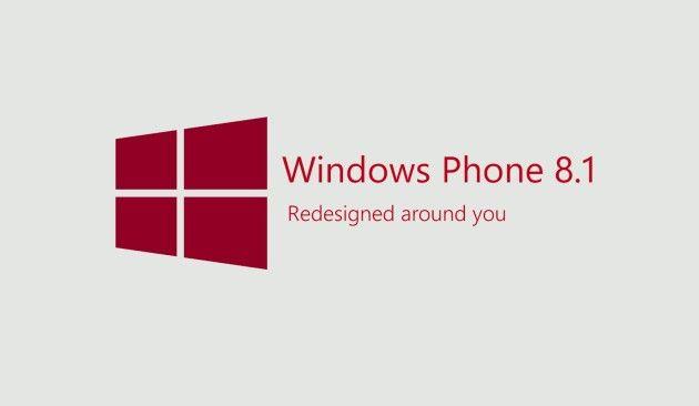 Windows Phone 8.1 oficialmente 312i0mx