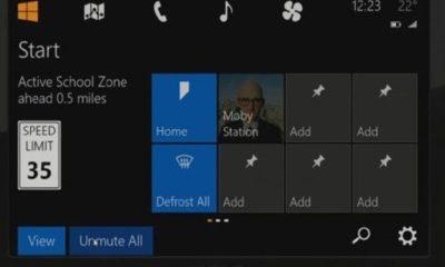 Windows in the car, Windows 8 para automóviles 36