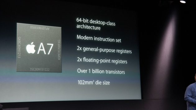 chip A7 Apple