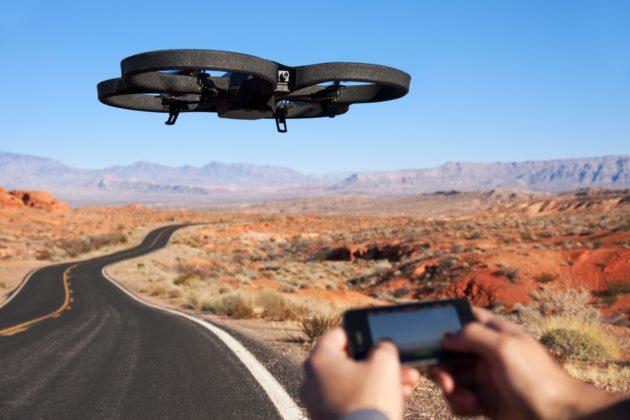 drones con fines comerciales
