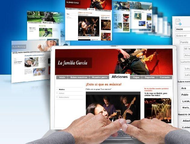 Mi Web Lite de 1&1 te permite tener tu página por poco más de 50 céntimos de euro al mes
